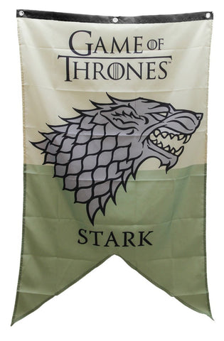 Game Of Thrones Stark Banner Fabric Poster
