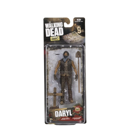 Walking Dead Muddy Grave Digger Daryl Dixon Action Figure