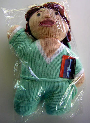 Hitchhiker's Guide to the Universe Trillian 12 Inch Plush Knit Doll