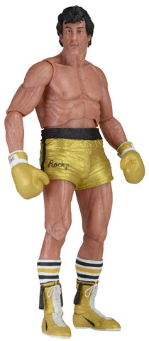 40th Anniversary Series 1 Gold Trunks Rocky Action Figure (7