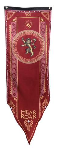 Game Of Thrones House Lannister Tournament Banner
