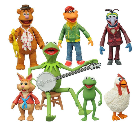 The Muppets Action Figures Set of 7