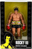 "40th Anniversary Series 1 Black Trunks Rocky Action Figure with Belt (7"" Scale)"