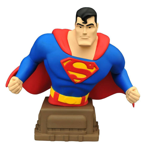 Superman The Animated Series: Superman Bust Limited Edition of 3,000 Pieces Worldwide