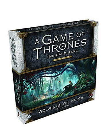 A Game of Thrones LCG 2nd Edition: Wolves of the North Deluxe Expansion Card Game