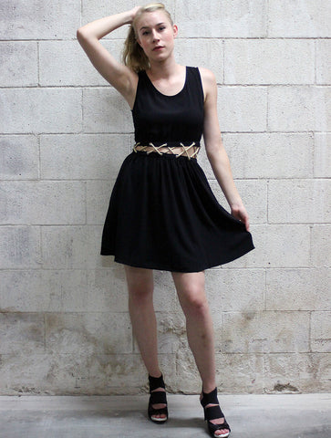 Rope Cut Out Dress