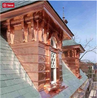 Incredible craftsmanship in copper!  Take a look at some other work done by CLIP Contracting in Labadie Missouri.
