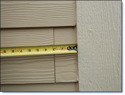 Fiber Cement Siding Errors - For most products, the manufacturer's instructions serve as the easiest way to conform to code.