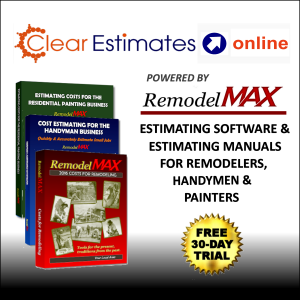 Clear Estimates Estimating Software Powered by RemodelMAX