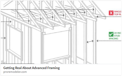 Advanced framing - The do\'s and the don\'ts. – RemodelMAX