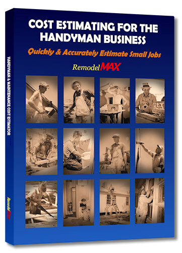COST ESTIMATING FOR THE HANDYMAN BUSINESS MANUAL plus PDF download