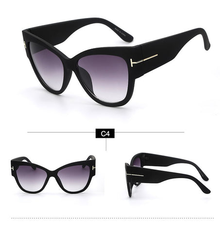 Gradient Cat Eye Sunglasses