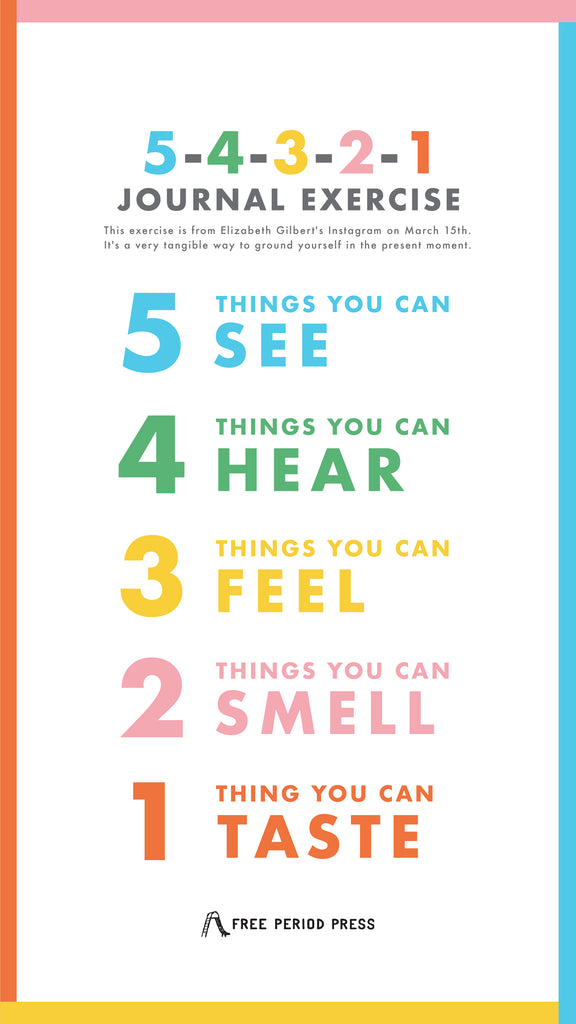 5-4-3-2-1: Five Senses Mindfulness Exercise