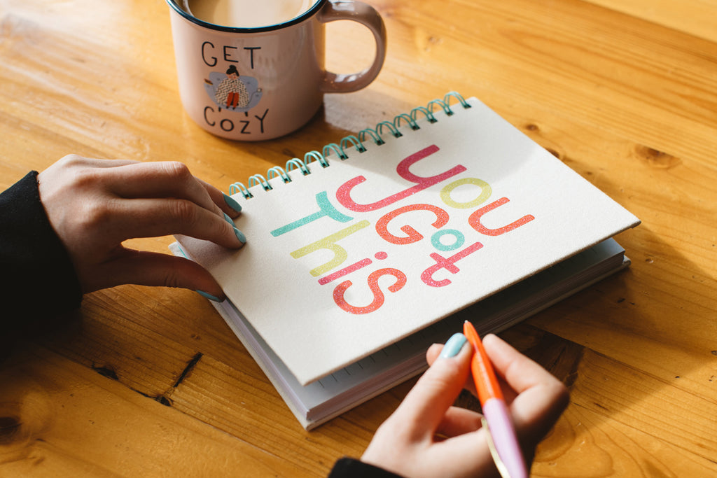 You Got This Journal and Get Cozy Mug - Free Period Press