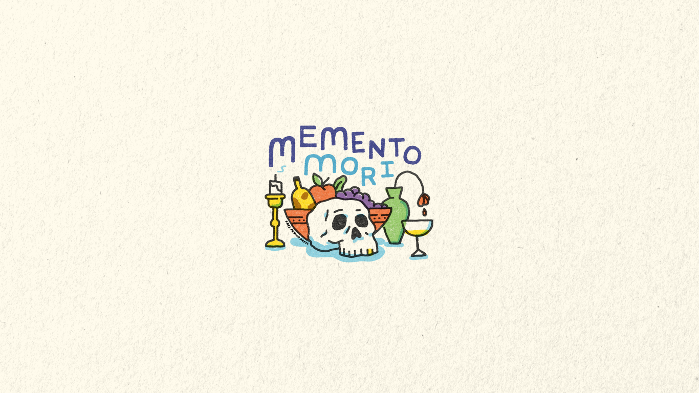 Memento Mori Desktop Wallpaper Free Period Press Mikey Burton