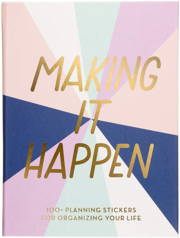 Making It Happen Sticker Book