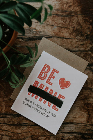 Be Your Own Person - Healthy Love Valentines