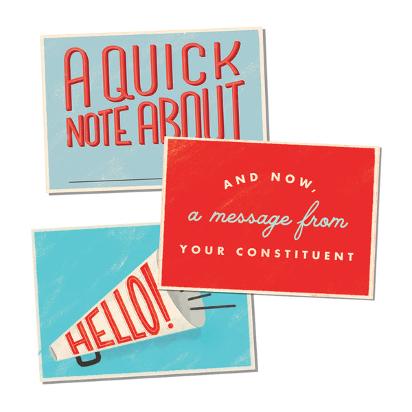 Political Action Postcards Variety Pack - Set of 12
