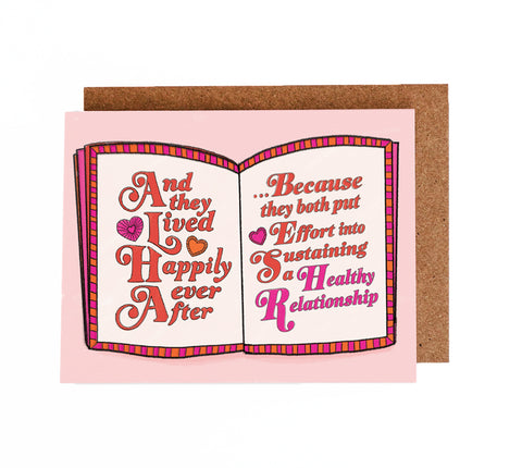 Happily Ever After - Healthy Love Valentines
