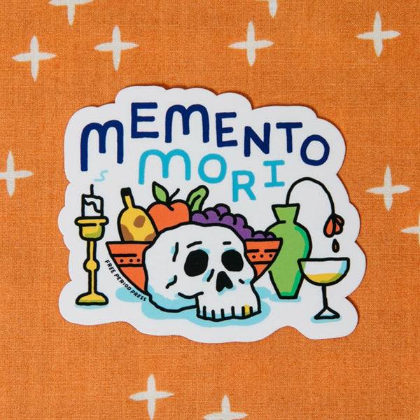Memento Mori Vinyl Decal Sticker