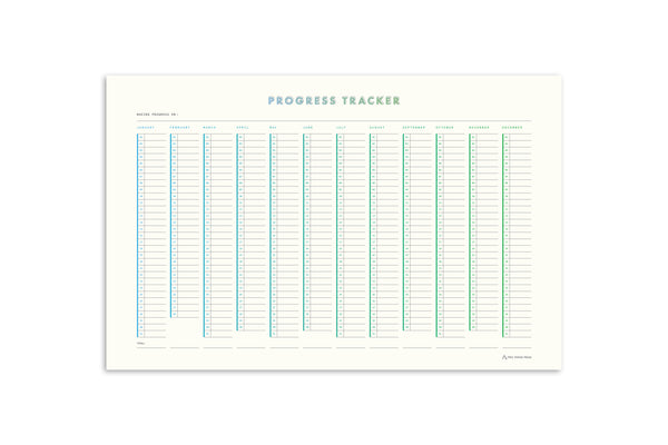 Progress Tracker Poster