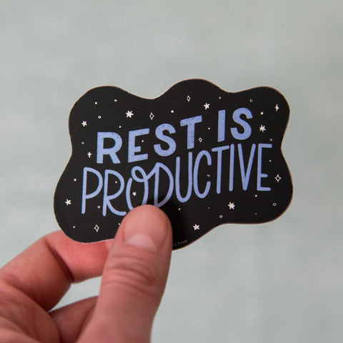 Rest is Productive - Vinyl Decal Sticker