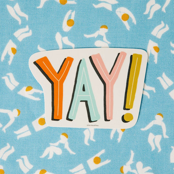 Yay! - Vinyl Decal Sticker