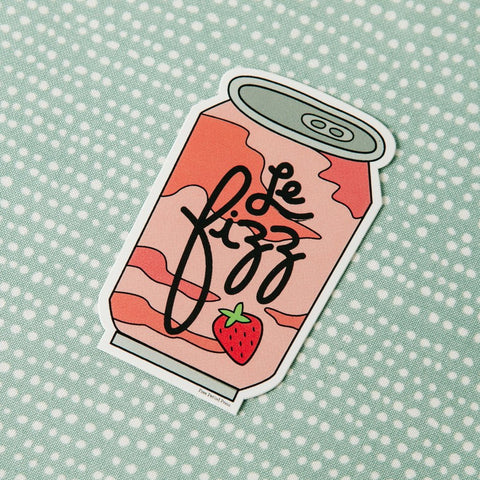Le Fizz Seltzer Can Vinyl Decal Sticker