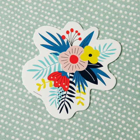 Flower Vinyl Decal Sticker
