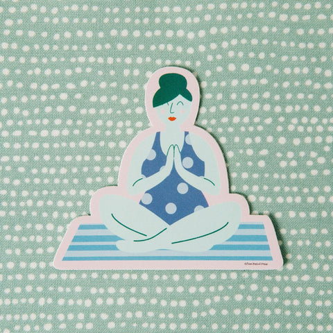 Yoga Vinyl Decal Sticker