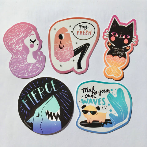 Make a Splash Sticker Set