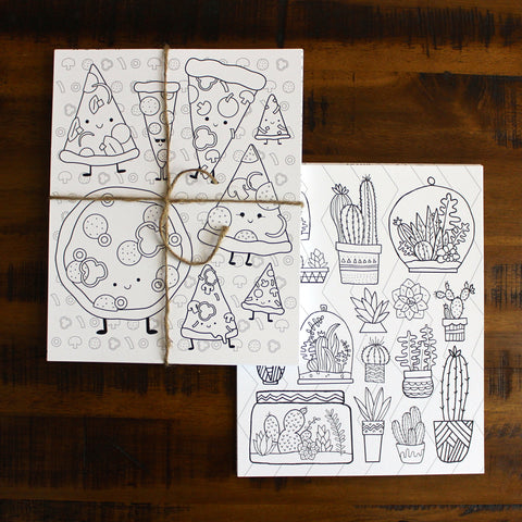 Distractables Coloring Pages (Set of 41)