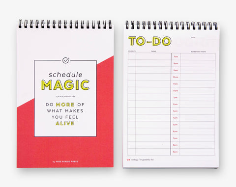 Schedule Magic: The Daily To-Do List Notebook