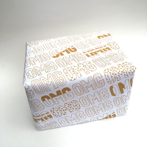 OMG Gift Wrap - 5 sheets