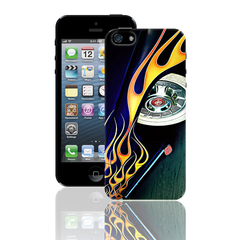 Lead Sled with Flames Phone Case