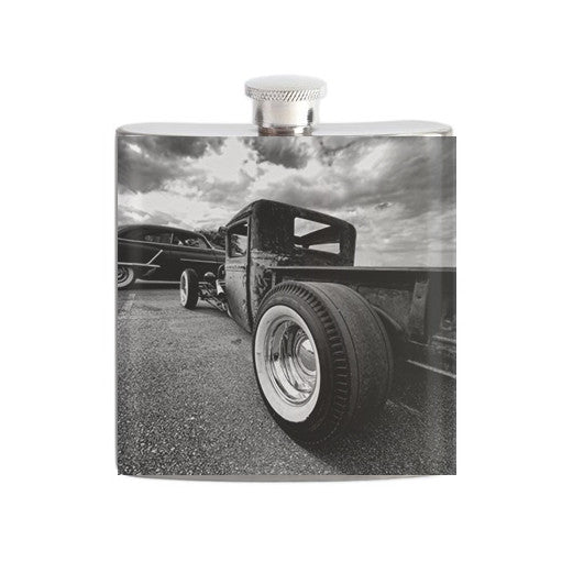Hot Rod Truck Flask