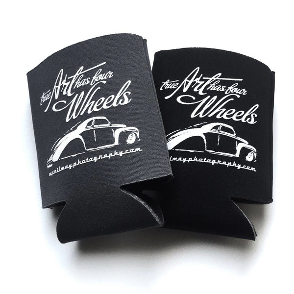 True Art Has Four Wheels Koozie