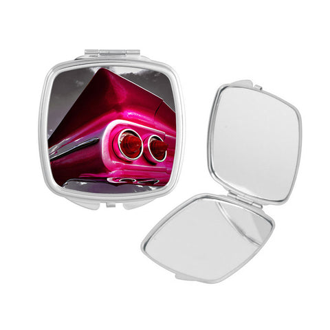 Pink Chevy Compact Mirror