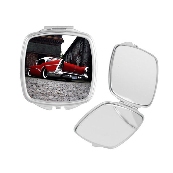 Red Buick Compact Mirror