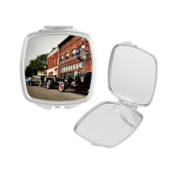 Row of Roadsters Compact Mirror
