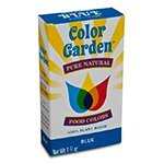 Color Garden Food Color Natural Blue, 1 oz, 5 ct