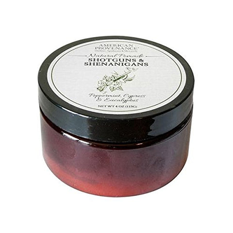 AMERICAN PROVENANCE HORSESHOES & HAND GRENADES HAIR POMADE 4 OZ.