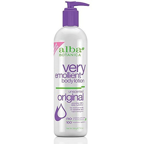 Alba Botanica - Very Emollient Body Lotion Original Unscented