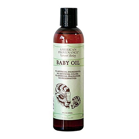 AMERICAN PROVENANCE NATURAL BABY OIL 8 FL. OZ.