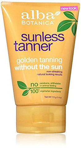 Alba Sunless Golden Tanning Lotion -- 4 fl oz