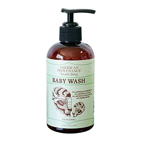 AMERICAN PROVENANCE NATURAL BABY WASH & SHAMPOO 8 FL. OZ.