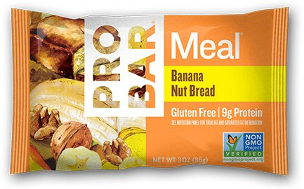 Probar Meal Banana Nut Bread, 3 Ounce (Pack of 12)
