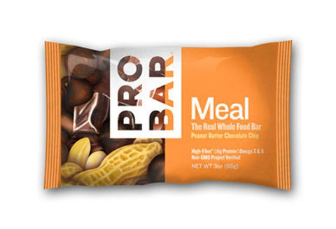 Pro Bar Meal Bars Peanut Butter Chocolate Chip The Simply Real Bar 12 (3 oz.) bars per box