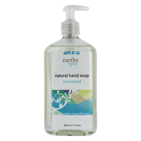 EARTHY Hand Soap Unscented, 17 Ounce