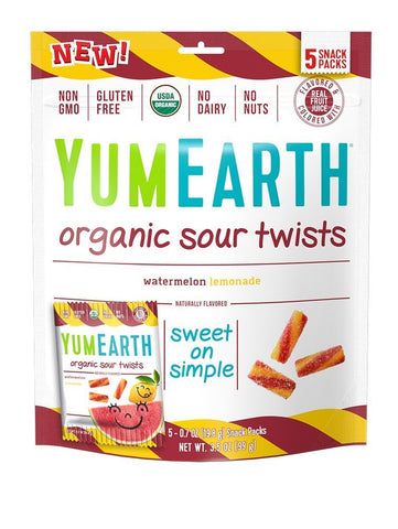 YumEarth Organic Gluten Free Sour Twists